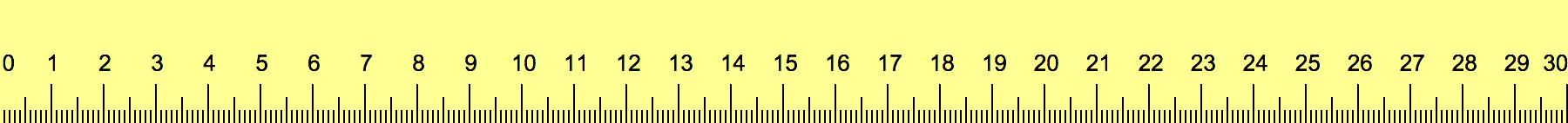 Cm Ruler Actual Size