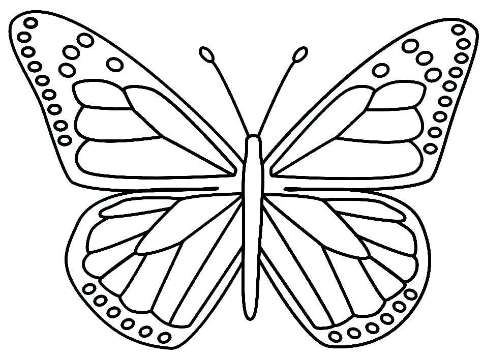 It is a picture of Butterfly Cut Out Printable regarding art