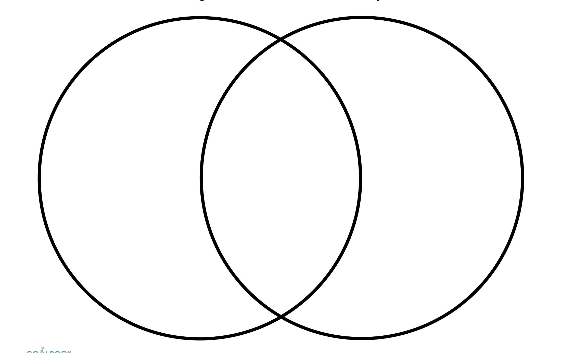 Shocking Printable Venn Diagram 2 Circles | Rogers Blog