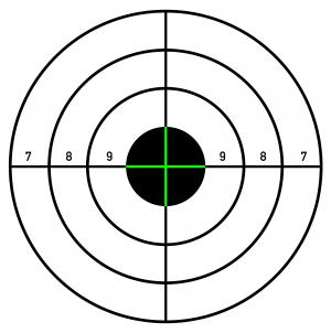 Printable Shooting Targets For Pistol Rifle Airgun Archery