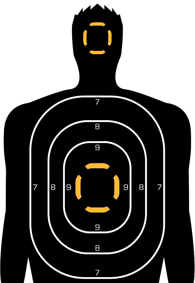 printable paper shooting targets pdf