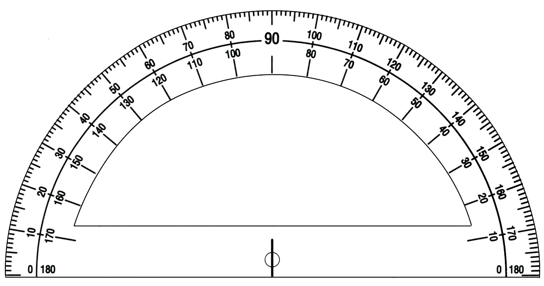 Fabulous image within printable protractor