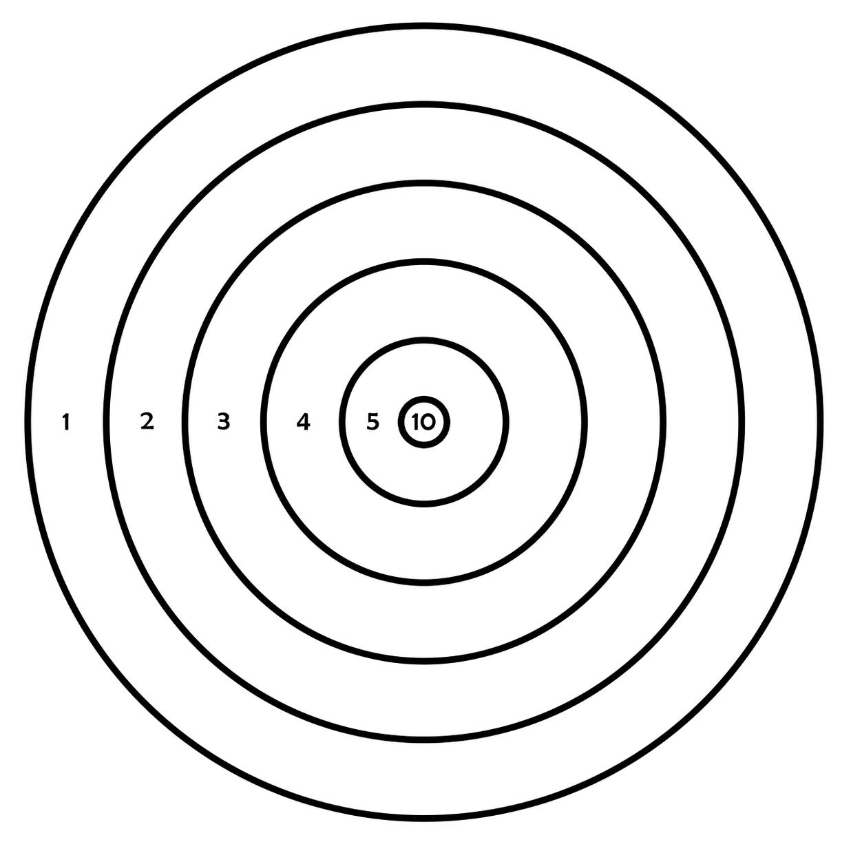 printable shooting targets 11x17