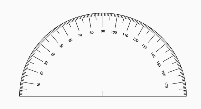 small printable protractor