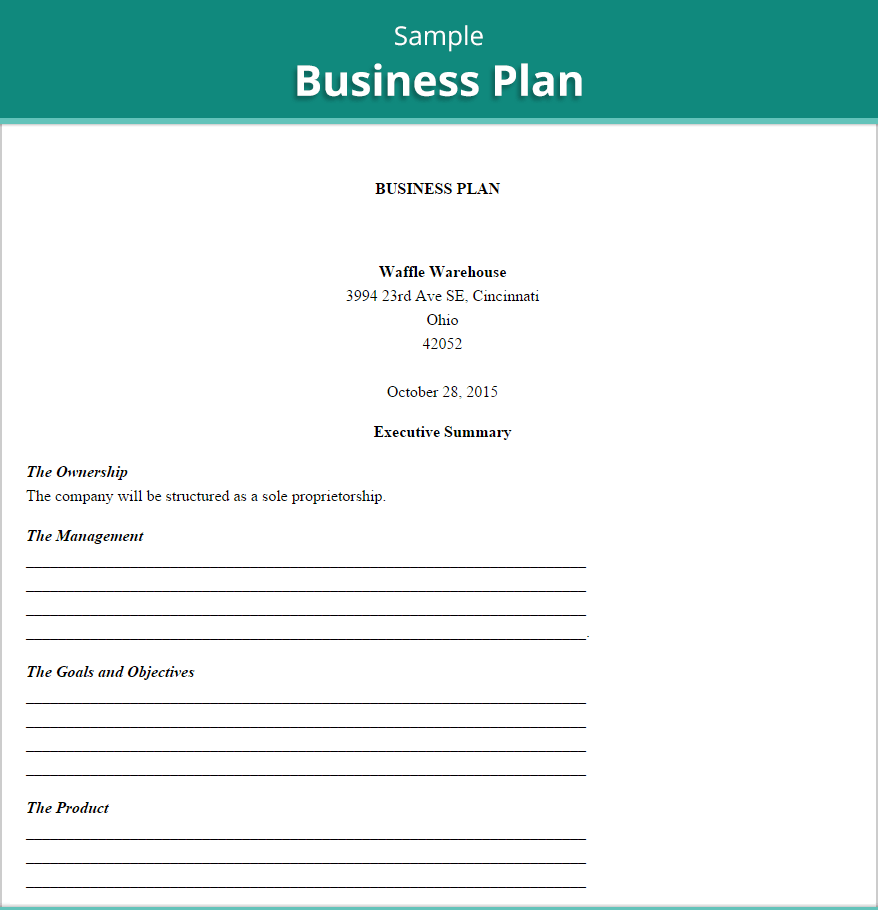 Free Business Plan Template Excel One Platform For Digital Solutions Business Plan Template