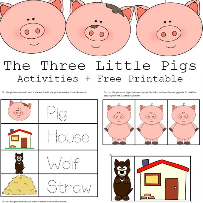Three Little Pigs Story PDF