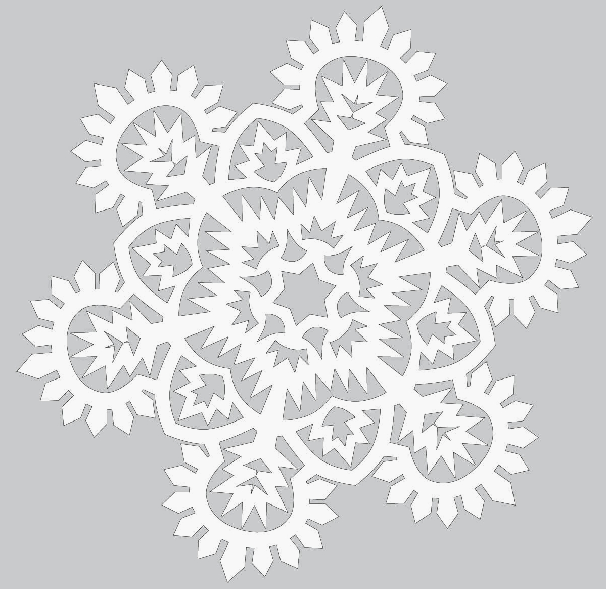 snowflake template frozen