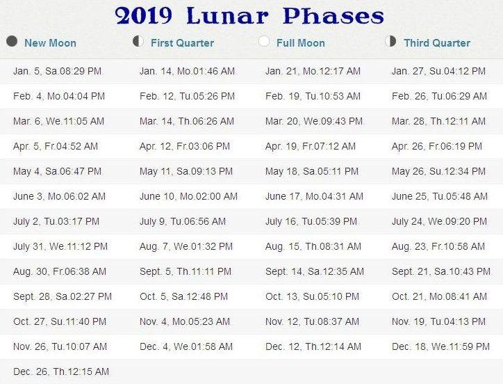 New Moon 2019