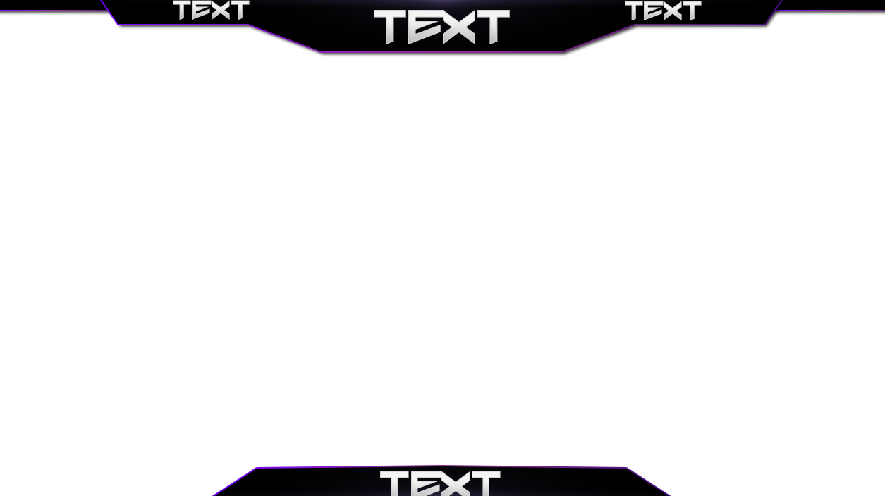 Twitch Cam Overlay Template