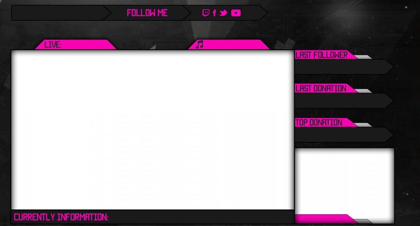 Twitch Template Overlay