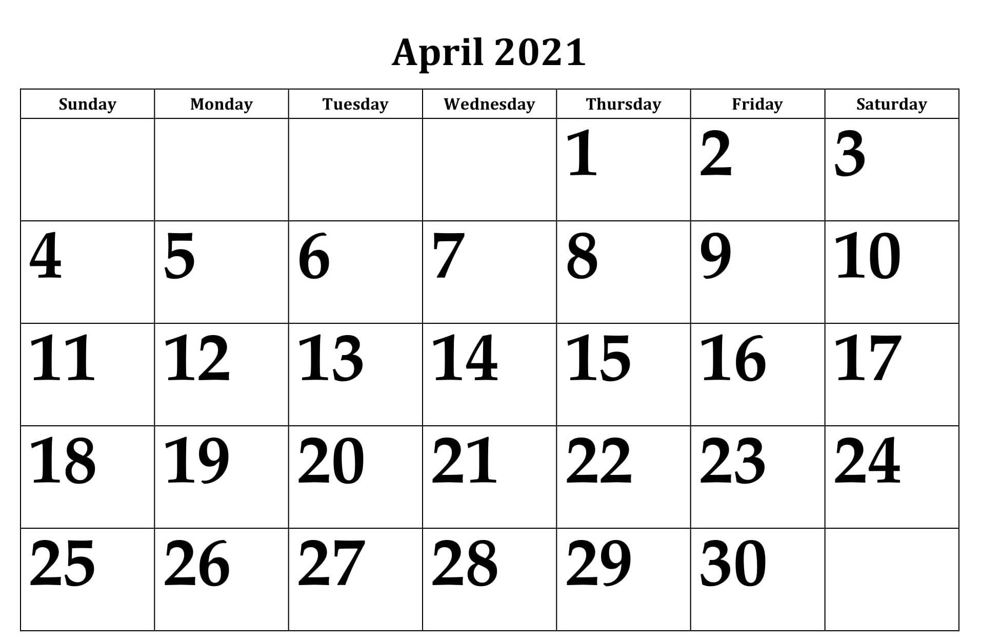 2021 Calendar For Australia