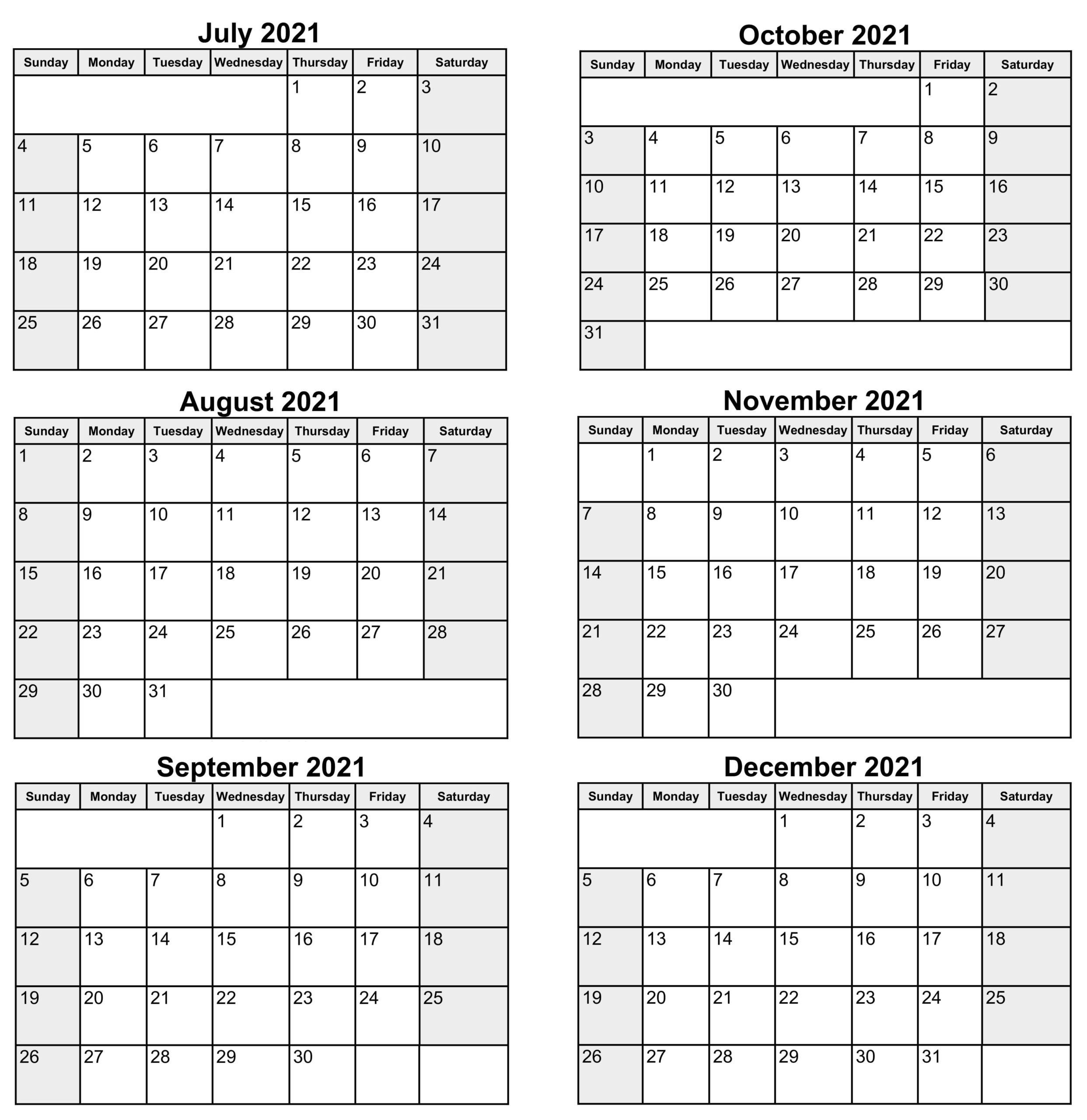 July to December Calendar 2021 JPG